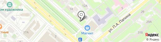 ПОИНТ на карте Липецка