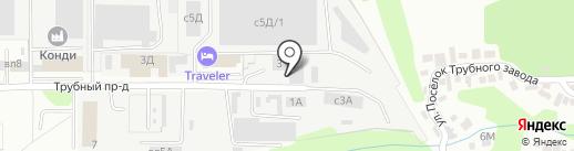Липецкая таможня на карте Липецка