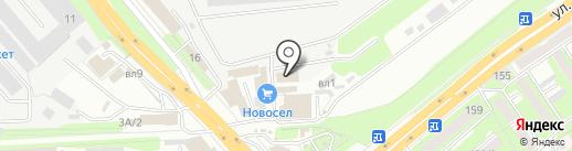 ТрансКонтейнер на карте Липецка