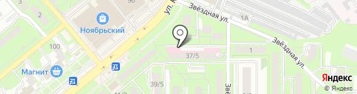 Городская стоматологическая поликлиника №2 на карте Липецка