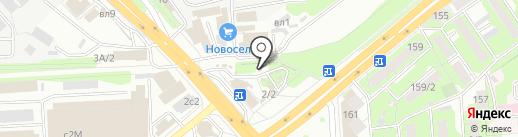 Магазин инструментов на карте Липецка