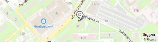 Ателье по ремонту и пошиву одежды на карте Липецка
