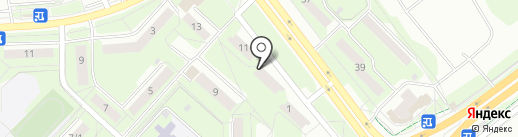 Стильная штучка на карте Липецка