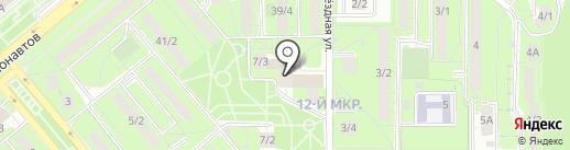 Причуда на карте Липецка