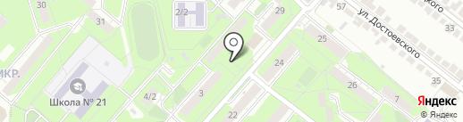Магазин разливного пива на карте Липецка