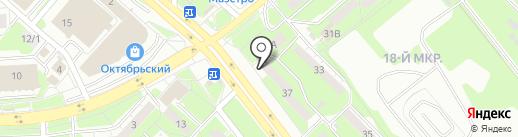 Пивпункт на карте Липецка