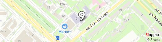 Липецкий областной колледж искусств им. К.Н. Игумнова на карте Липецка