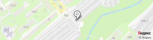 Автосервис на Звездной на карте Липецка