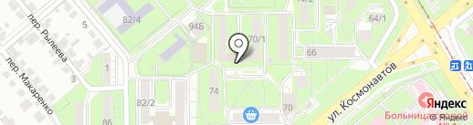 Ателье по пошиву и ремонту одежды на карте Липецка