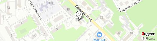 ЗАГС Липецкого района на карте Липецка