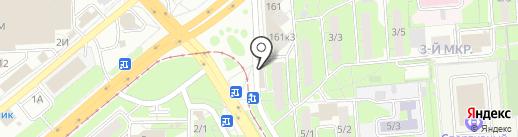 Правильная корзинка на карте Липецка