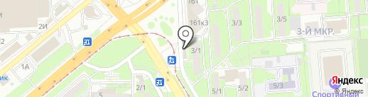 Школа-студия ногтевого сервиса Гали Якуби на карте Липецка
