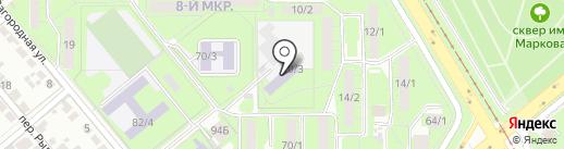 Детская школа искусств №7 на карте Липецка