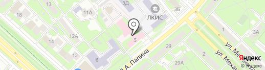 Городской родильный дом на карте Липецка