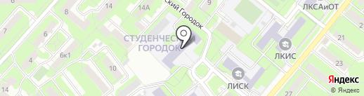 Липецкий машиностроительный колледж на карте Липецка