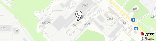 Коллегия адвокатов Липецкого района на карте Липецка