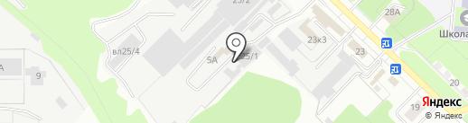 Интерьерхолл на карте Липецка