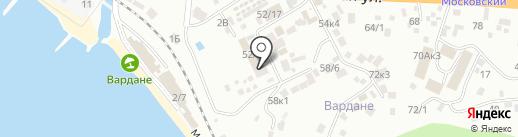 Арина на карте Сочи