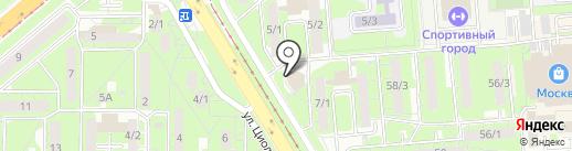 АртЛайф на карте Липецка