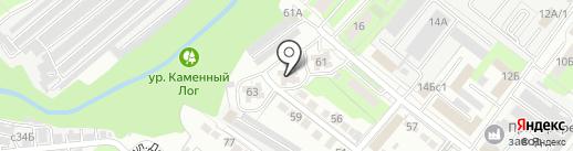 Научно-производственный центр информационной безопасности на карте Липецка