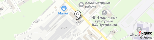 УФМС на карте Липецка