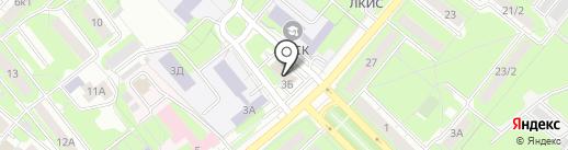 Твой Джинн на карте Липецка