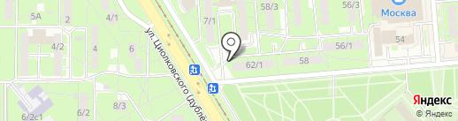 Партнер на карте Липецка