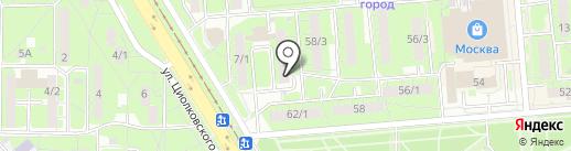 Почтовое отделение №32 на карте Липецка