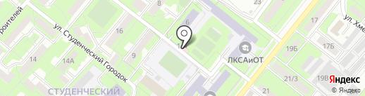 Диагностический центр на карте Липецка
