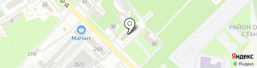 Комитет образования на карте Липецка