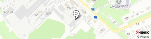 Интерагрозапчасть на карте Липецка