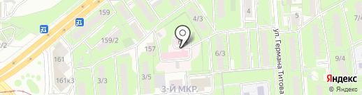 Липецкая областная станция скорой медицинской помощи на карте Липецка