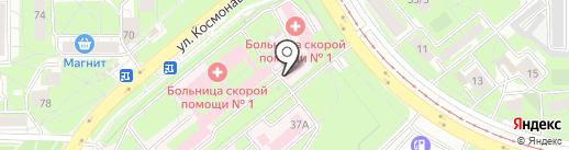 МРТ Эксперт на карте Липецка