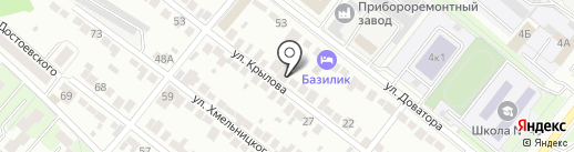 ДИДЖИТАЛ ХАУС на карте Липецка