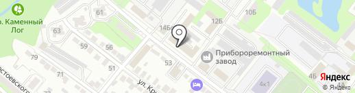 Альянс Сервис на карте Липецка