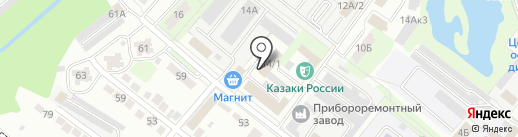 Уголовно-исполнительная инспекция по Октябрьскому округу на карте Липецка