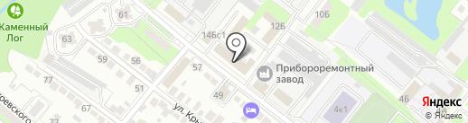 Русь на карте Липецка