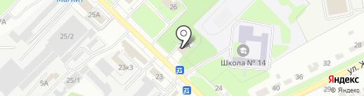 Липецкий районный суд Липецкой области на карте Липецка