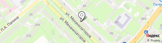 Автофокус на карте Липецка