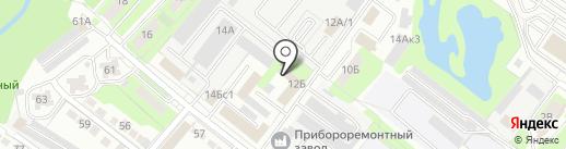 Мировые судьи Правобережного округа на карте Липецка