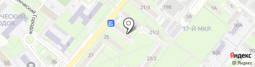 Гавань на карте Липецка