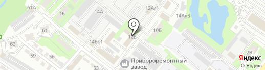 Инспекция государственного строительного надзора Липецкой области на карте Липецка