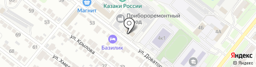 Автомеханик на карте Липецка