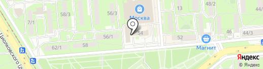 Комиссия по делам несовершеннолетних и защите их прав Советского округа города Липецка на карте Липецка