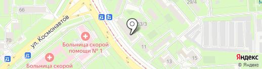 МИГ мебель на карте Липецка