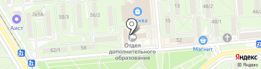 Территориальная избирательная комиссия Советского округа г. Липецка на карте Липецка