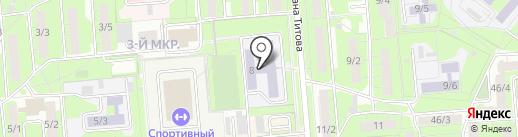 Автокласс на карте Липецка