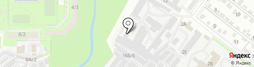 Кельт на карте Липецка