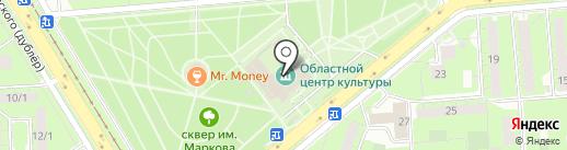 Областной центр культуры и народного творчества на карте Липецка