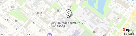 Ренотехцентр на карте Липецка